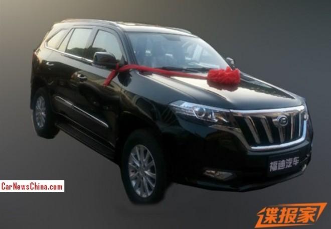 Spy Shots: new Foday SUV is Ready for the China car market