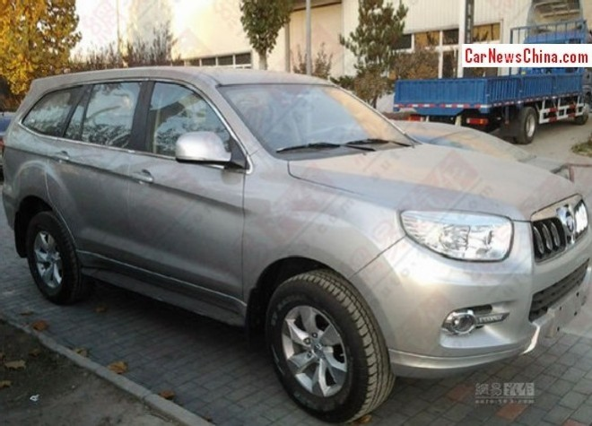 Spy shots: Foton U201 SUV is Naked in China
