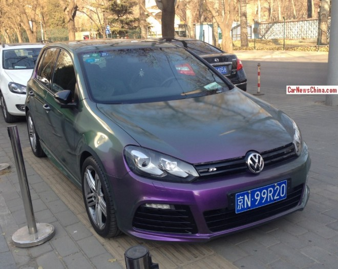Volkswagen Golf is Psychedelic in China