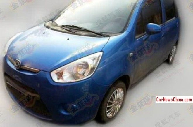 Spy Shots: new engine and AMT for the Haima Aishang in China