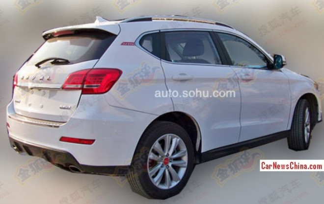 Spy Shots: Haval H2 looks Ready for the China car market