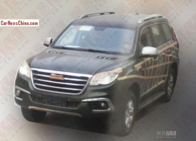Spy Shots: Haval H9 SUV is testing in China