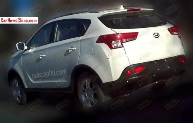 Spy Shots: Hawtai A25 SUV is Naked in China