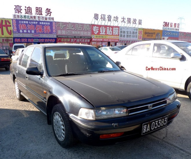 Spotted in China: 4th generation Honda Accord sedan