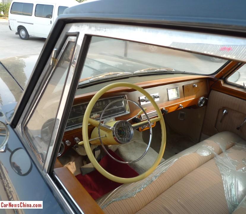 An Unrestored Hongqi CA770 At The Beijing Classic Car