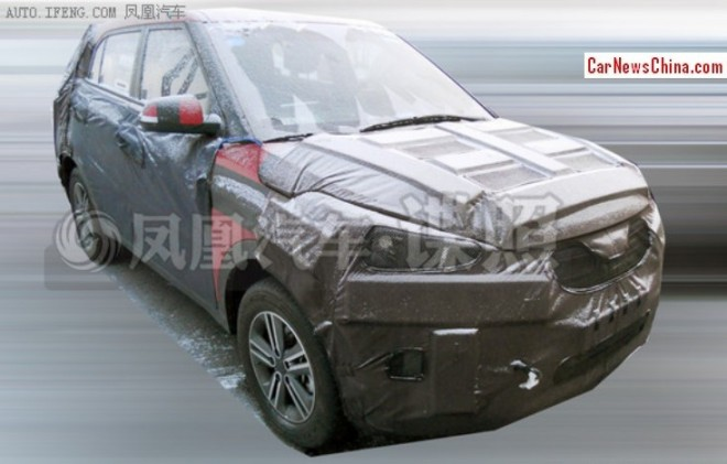 Spy shots: Hyundai ix25 SUV seen testing in China