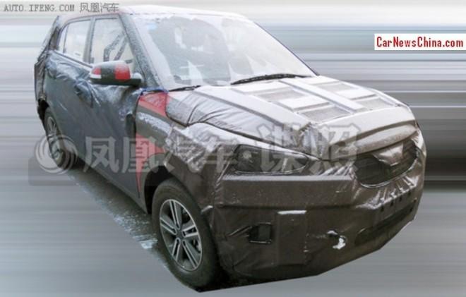 Spy shots: Hyundai ix25 SUV seen testing in China