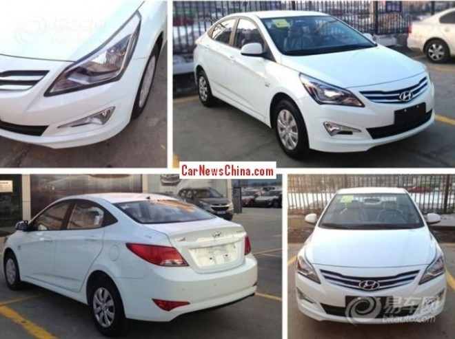 Spy Shots: facelift for the Hyundai Verna in China