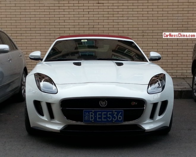 Spotted in China: first Jaguar F-Type in the Wild