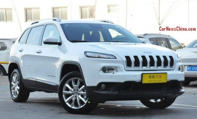 Jeep Cherokee hits the China car market