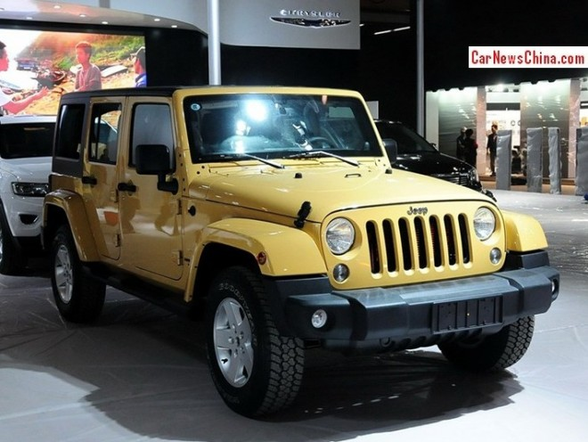 Jeep is Downsizing in China with Wrangler 3.0 V6