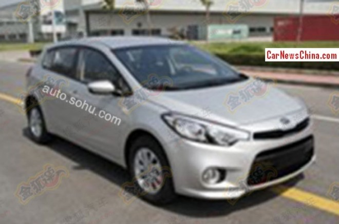 Spy Shots: Kia K3 hatchback for the China car market