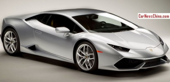 Lamborghini Huracan will cost $709.000 in China