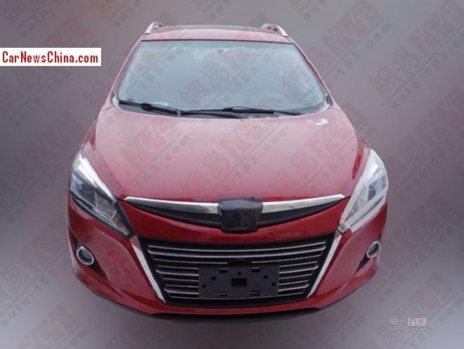 Spy Shots: Luxgen U6 Turbo seen testing in China