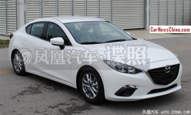 Spy Shots: new Mazda 3 is Ready for the China car market