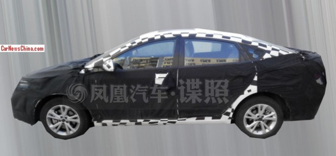 mg5-fastback-china-test-1a