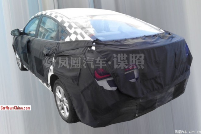 mg5-fastback-china-test-2