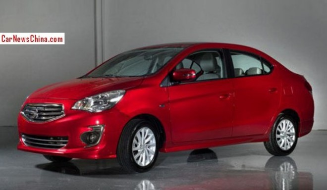 Mitsubishi Mirage G4 will be manufactured in China