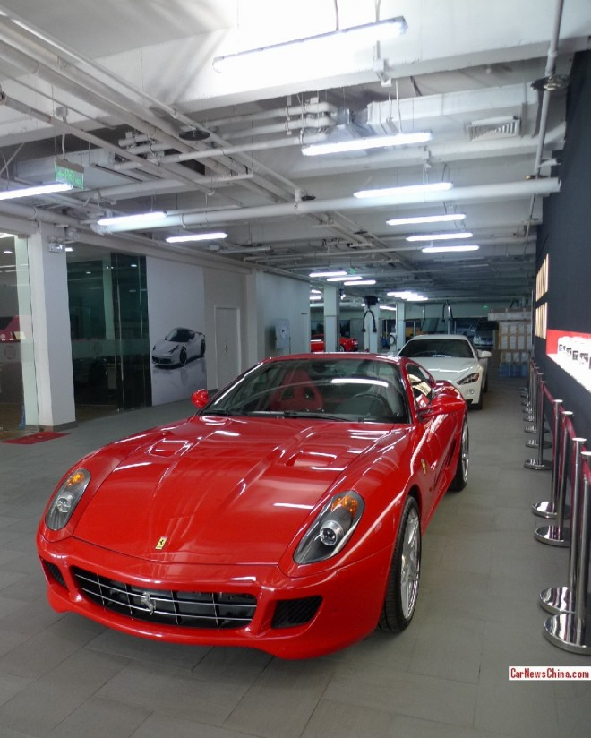 Visit to the Novitec tuning shop in Beijing