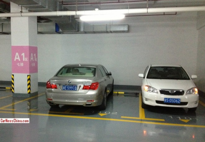 BMW drivers in China are Assholic
