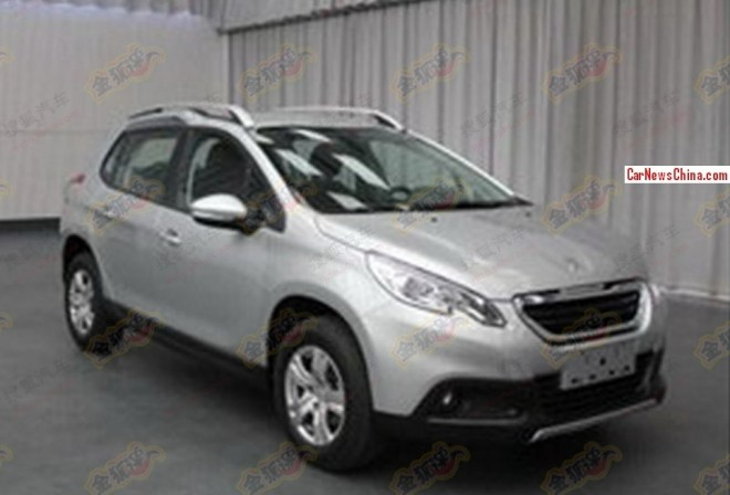 Spy Shots: China-made Peugeot 2008 is Ready for the Chinese car market