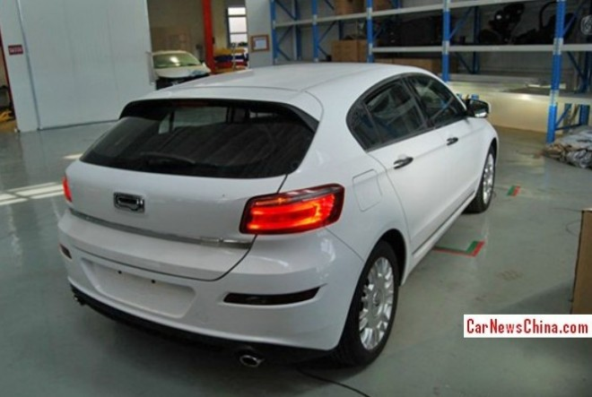 Spy shots: Qoros 3 Hatchback is naked in the Factory in China