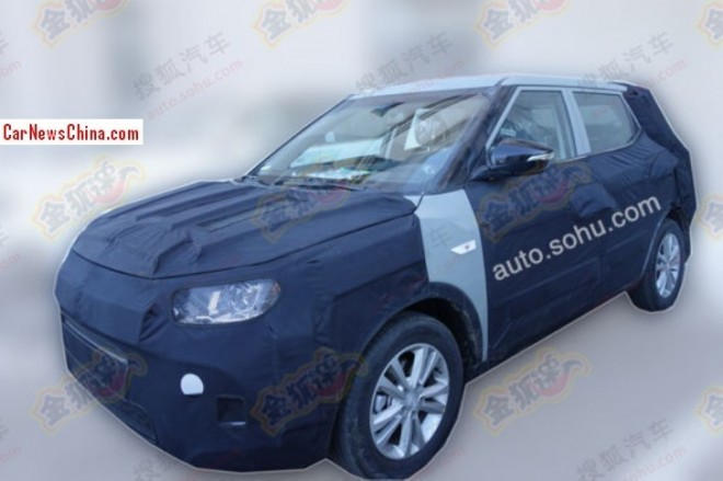 Spy Shots: SsangYong compact SUV testing in China