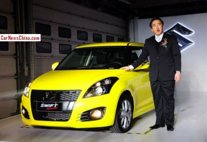 Suzuki Swift Sport hits the China car market for Far Too Much