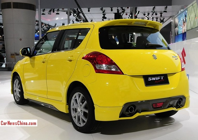 suzuki swift sport hits the china car market for far too. Black Bedroom Furniture Sets. Home Design Ideas