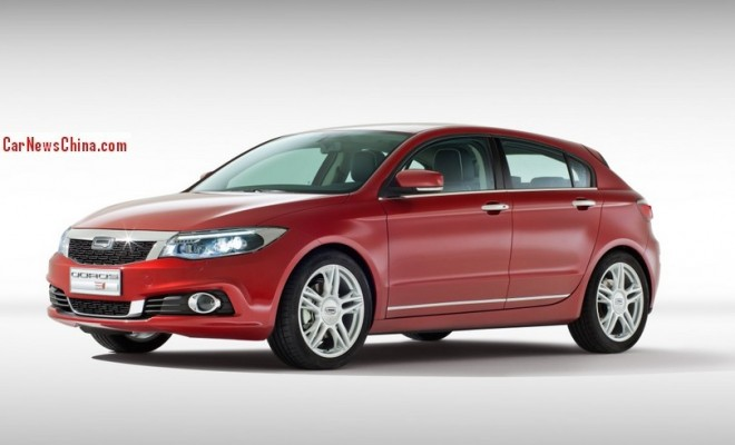 This is the new Qoros 3 Hatch