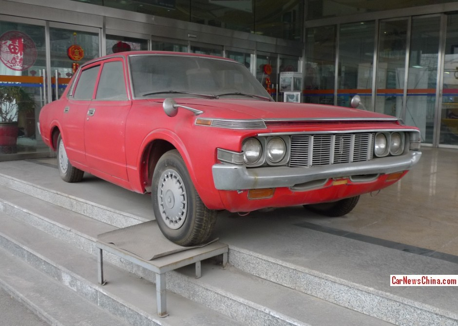 Spotted In China Fourth Generation Toyota Crown Sedan
