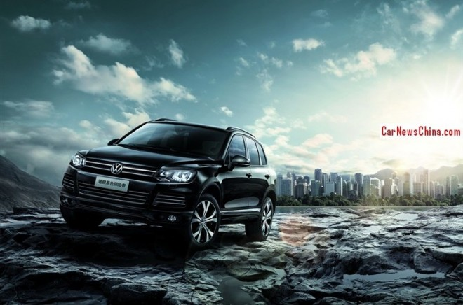 Volkswagen Touareg Black Adventure Edition hits the China car market