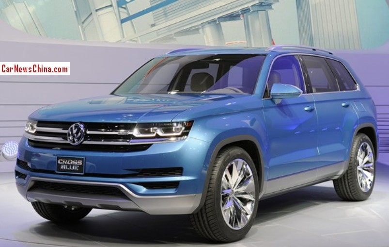 Volkswagen Crossblue Will Be Made In China From 2017