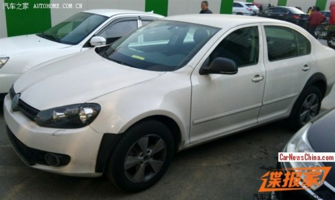 Spy Shots: new China-only Volkswagen sedan