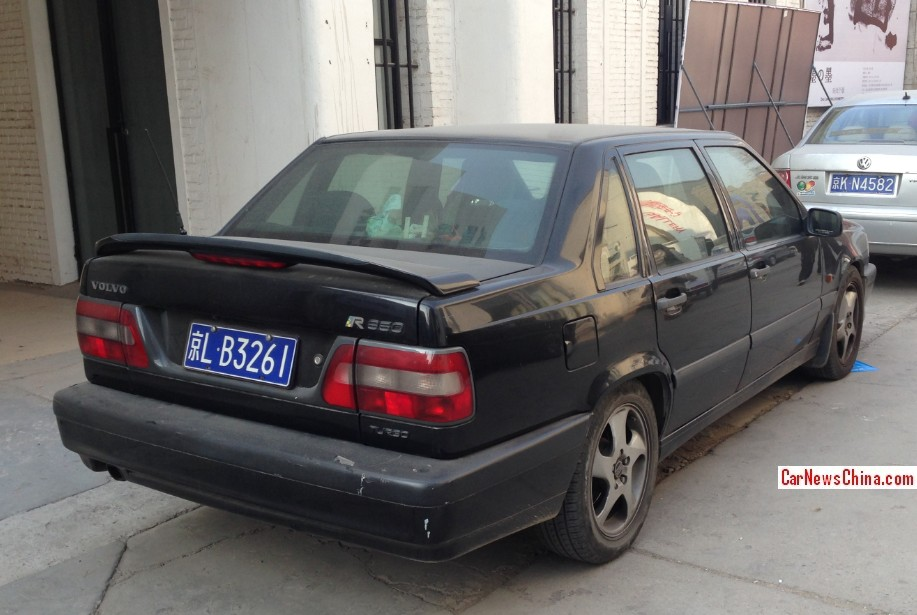 Spotted in China: Volvo 850 Turbo - CarNewsChina.com