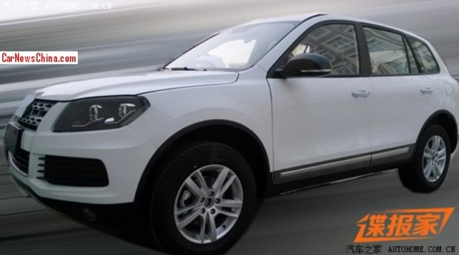 Spy Shots: Yema B60X SUV seen Naked at the Factory in China