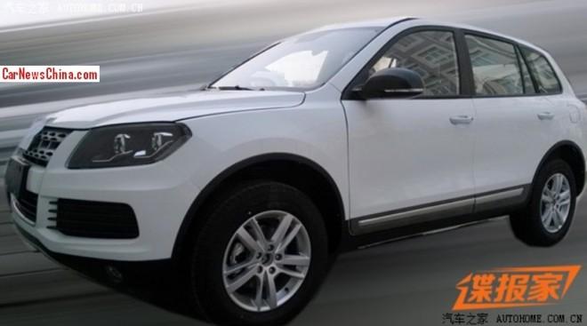 Spy Shots: Yema B60X SUV seen Naked at the Factory in China