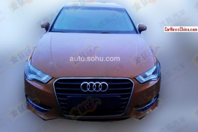 China-made Audi A3 will be Expensive