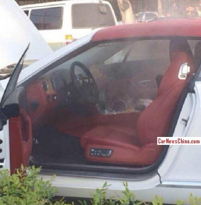 Bentley Gtc Convertible He He He: Bentley Continental GT Convertible Catches Fire In China
