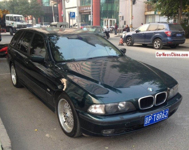 Spotted in China: a picture perfect E39 BMW 5-Series Touring