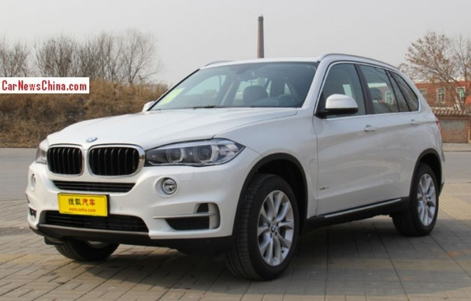 New BMW X5 hits the China car market