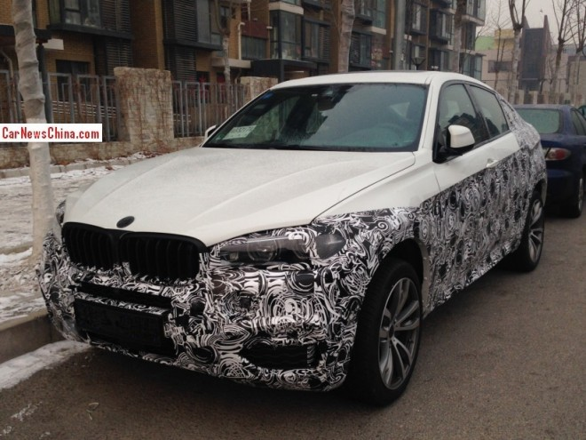 Exclusive Spy Shots: 2015 BMW X6 testing in China