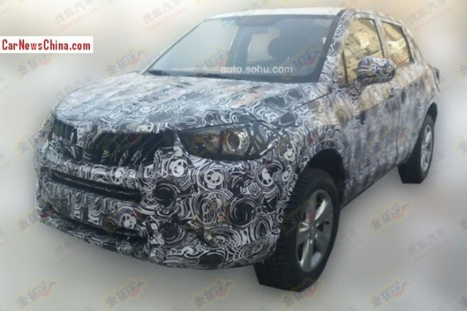 Spy Shots: Brilliance compact SUV seen testing in China