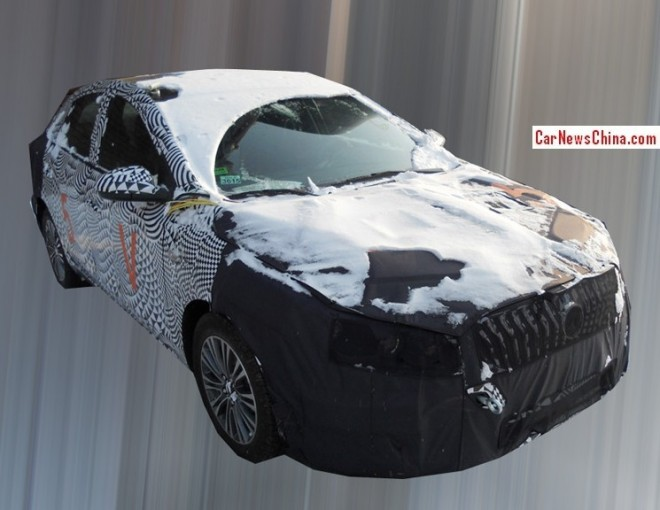 Spy Shots: facelift for the Buick Excelle GT in China