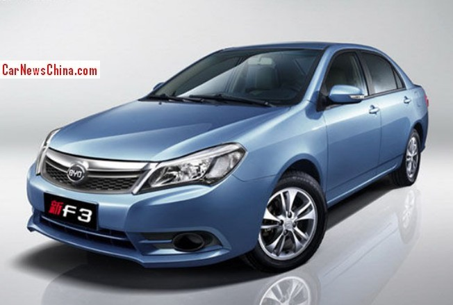Official Photos of the facelifted BYD F3