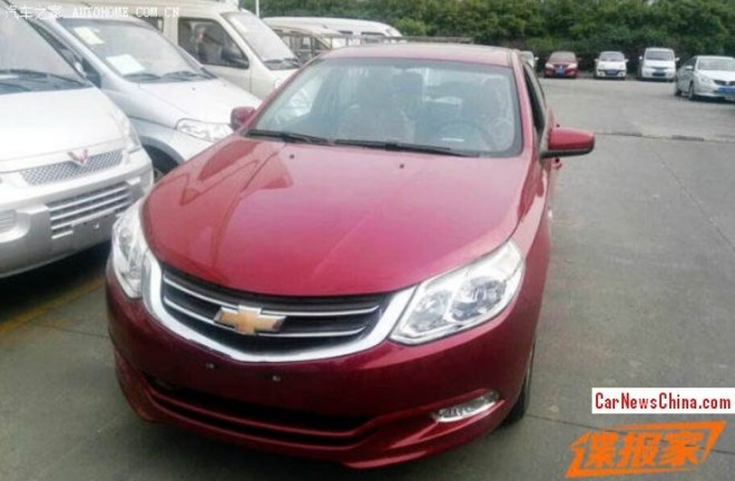 Spy Shots: Chevrolet Optra is Ready for North African markets