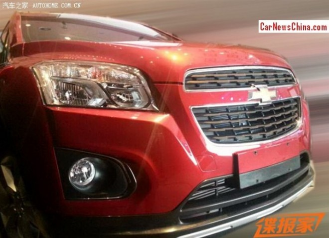 Spy Shots: Chevrolet Trax is getting Ready for the China car market