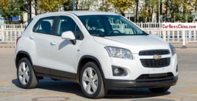China-made Chevrolet Trax is Ready for the Chinese auto market