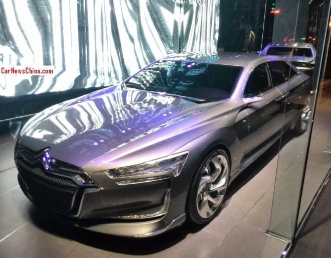 Citroen Metropolis concept pops up in Shanghai