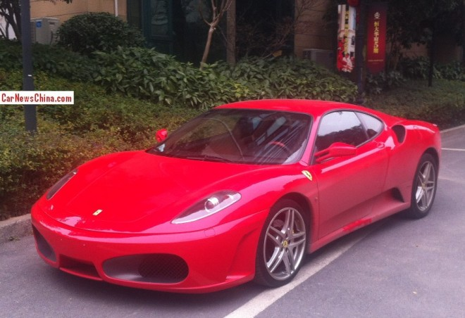 Spotted in China: Ferrari F430 is Red in Changsha